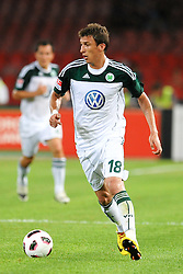 03.08.2010, Stadio San Paolo, Neapel, ITA, Friendly Match, SSC Neapoli vs VFL Wolfsburg, im Bild Mario MANDZUKIC Wolfsburg.EXPA Pictures © 2010, PhotoCredit: EXPA/ InsideFoto/ Staccioli Insidefoto +++++ ATTENTION - FOR AUSTRIA AND SLOVENIA CLIENT ONLY +++++ / SPORTIDA PHOTO AGENCY
