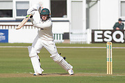 Harry Dearden batting during the Specsavers County Champ Div 2 match between Leicestershire County Cricket Club and Lancashire County Cricket Club at the Fischer County Ground, Grace Road, Leicester, United Kingdom on 23 September 2019.