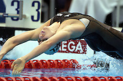 Hannah McLean (NZ) 200m backstroke<br />2006 Telstra Commonwealth Games<br />Swimming Trials,  January 30th -  4th Feb.<br />Melbourne Sports &amp; Aquatics Centre <br />&copy; Sport the library/Jeff Crow