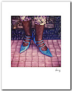 Blue Shoes, Melrose Ave 1985 11x14 signed archival pigment print free shipping USA