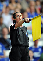 Birmingham City/Blackpool Championship 20.09.08 <br /> Photo: Tim Parker Fotosports International<br /> Assistant referee Amy Rayner during the game