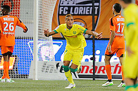 Joie Yacine BAMMOU - 20.12.2014 - Lorient / Nantes - 17eme journee de Ligue 1 -<br />