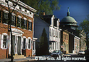 Carlisle Historic District, Preserved and Restored Row Homes, late 19th century, Cumberland Co., PA