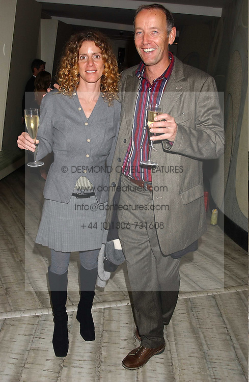 ARIEL ROGER-PARIS and his wife MARIA MARSHALL at a dinner hosted by Arnaud Bamber MD of Cartier, Amanda Sharp and Matthew Slotover Directors of the Frieze Art Fair to celebrate artists featured in the 2005 Frieze Art Fair Curatorial Programme at Nobu-Berkeley, 15th Berkeley Street, London on 21st October 2005.<br /><br />NON EXCLUSIVE - WORLD RIGHTS