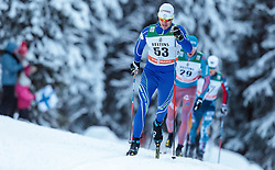 27.11.2016, Nordic Arena, Ruka, FIN, FIS Weltcup Langlauf, Nordic Opening, Kuusamo, Herren, im Bild Peter Mlynar (SVK) // Peter Mlynar of Slovakia during the Mens FIS Cross Country World Cup of the Nordic Opening at the Nordic Arena in Ruka, Finland on 2016/11/27. EXPA Pictures © 2016, PhotoCredit: EXPA/ JFK