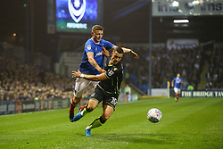 Billy Bodin of Bristol Rovers gets past Dion Donohue of Portsmouth - Mandatory by-line: Jason Brown/JMP - 26/09/2017 - FOOTBALL - Fratton Park - Portsmouth, England - Portsmouth v Bristol Rovers - Sky Bet League One