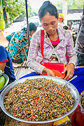 Insect, ant, Food Market, Koh Chen, Cambodia