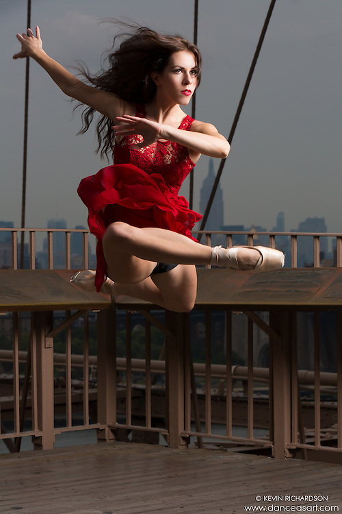 Brooklyn Bridge. Dance As Art- The New York Photography Project featuring Lindsey Horrigan.