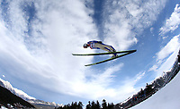 Kombinert<br /> FIS World Cup<br /> Seefeld Østerrike<br /> 19.01.2014<br /> Foto: Gepa/Digitalsport<br /> NORWAY ONLY<br /> <br /> FIS Weltcup, Nordic Triple. Bild zeigt Magnus Krog (NOR).