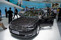 The new VW Passat at the Shanghai autoshow 2009