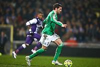 Benjamin Corgnet - 28.02.2015 - Toulouse / Saint Etienne - 27eme journee de Ligue 1 -<br />Photo : Manuel Blondeau / Icon Sport