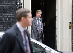 © Licensed to London News Pictures. 29/11/2011. London, UK.  Lord Chancellor and Secretary of State for Justice Kenneth Clarke arriving at 10 Downing Street this morning (29/11/2011) for a cabinet meeting. Photo credit: Ben Cawthra/LNP
