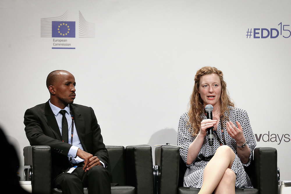 04 June 2015 - Belgium - Brussels - European Development Days - EDD - Growth , jobs and partnership with business - How to make a difference together in contributing to a sustainable and inclusive growth agenda - Marie Gad , Chair , Development Policy Working Group , BUSINESSEUROPE © European Union
