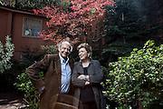 Milano, Mara Maionchi e Alberto Salerno nella loro casa