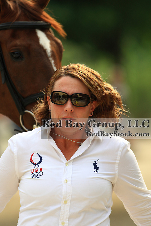 Becky Holder and Rejuvenate at the 2009 Maui Jim Horse Trials in Wayne, Illinois.