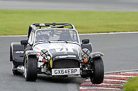 #71 Alan Cooper Caterham Roadsport during the Avon Tyres Caterham Roadsport Championship at Oulton Park, Little Budworth, Cheshire, United Kingdom. August 13 2016. World Copyright Peter Taylor/PSP.