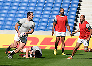 Bismarck du Plessis during the South Africa Captain's Run training session in preparation for the Rugby World Cup at the American Express Community Stadium, Brighton and Hove, England on 18 September 2015. Photo by David Charbit.