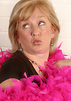 Dillie Keane from the original cast of the BBC television series Grumpy Old Women.<br /> Client Breast Cancer Campaign