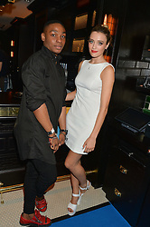 WALLIS DAY and JOEL DASH at the Maybelline New York: Party, part of the London Fashion Week Spring Summer 15 held at Tredwell's, 4a Upper St Martins Lane, London on 12th September 2014.