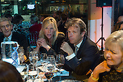 LORD DENNIS STEPHENSON; PANDORA CHRISTIE; JOEL CADBURY;  ANNABELLE CHRISTIE Action Against Cancer 'A Voyage of Discovery' fundraising dinner at the Science Museum on Wednesday 14 October 2015.