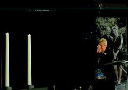 15-06-2013 ALGEMEEN: AFSCHEIDSBIJEENKOMST VISSER EN SEVEREIN: ALMERE<br /> Vandaag was de gelegenheid om afscheid te nemen van Ingrid Visser en Lodewijk Severein. Iedereen die zich verbonden voelde kon naar de openbare herdenking komen in het Topsportcentrum Almere / Erica Terpstra<br /> ©2013-FotoHoogendoorn.nl