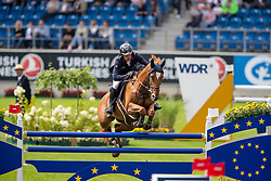 Robert Olivier, FRA, Vadrouille d'Avril<br /> CHIO Aachen 2019<br /> Weltfest des Pferdesports<br /> © Hippo Foto - Stefan Lafrentz<br /> Robert Olivier, FRA, Vadrouille d'Avril
