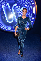 Charlotte Wiggins at the Warner Music & Ciroc Brit Awards party, Freemasons Hall, 60 Great Queen Street, London England. 22 February 2017.