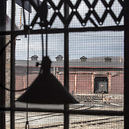 The roundhouse and turntable make for a fine view from the machine shop at the EBT complex in Orbisonia.