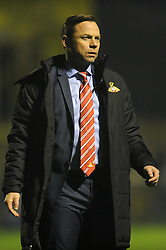 Doncaster Rovers Manager, Paul Dickov - Photo mandatory by-line: Dougie Allward/JMP - Mobile: 07966 386802 - 18/11/2014 - SPORT - Football - Weston-super-Mare - Woodspring Stadium - Weston Super Mare v Doncaster Rovers - FA Cup