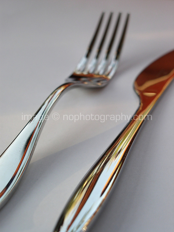 Knife and fork