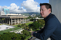 Michael Pili-Pang, Manoa '05, Executive Director in the Honolulu Office of Culture and the Arts