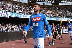 May 6, 2018 - Naples, Naples, Italy - Dries Mertens of SSC Napoli during the Serie A TIM match between SSC Napoli and FC Torino at Stadio San Paolo Naples Italy on 6 May 2018. (Credit Image: © Franco Romano/NurPhoto via ZUMA Press)