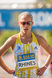 Boston Athletic Association 10K road race: Jen Rhines