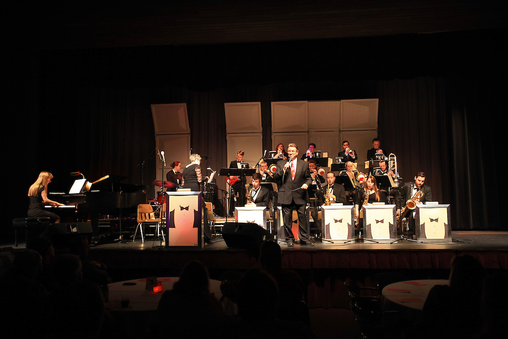 UW-L Tuxedo Dance Orchestra 2016 by UW-L student photographer Hanqing Wu