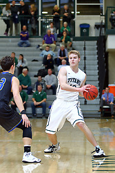 07 December 2016:  Nick Coleman during an NCAA men's division 3 CCIW basketball game between the North Park Vikings and the Illinois Wesleyan Titans in Shirk Center, Bloomington IL
