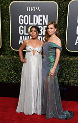 January 6, 2019 - Beverly Hills, California, United States of America - Marina De Tavira, Yalitza Aparicio attend the 76th Annual Golden Globe Awards at the Beverly Hilton in Beverly Hills, California on  Sunday, January 6, 2019. HFPA/POOL/PI (Credit Image: © Prensa Internacional via ZUMA Wire)