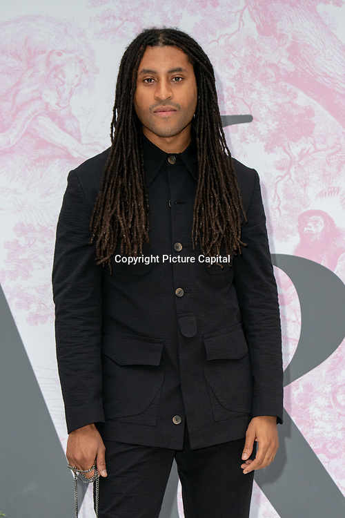 Cobbie Yates arrives at V&A - summer party, on 19 June 2019, London, UK