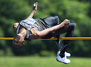 Mutaz Essa Barshim (QAT) wins the high jump at 7-9¼ (2.37m) during IAAF Birmingham Diamond League meeting at Alexander Stadium on Sunday, June 5, 2016, in Birmingham, United Kingdom. Photo by Jiro Mochizuki