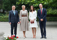 Duke & Duchess Of Cambridge Meet President Duda