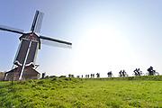 Nederland, Batenburg, 9-4-2017Moas en Woals moiste fietstocht . Toerfietstocht door het land van maas en waalFoto: Flip Franssen