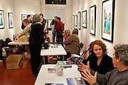 PhotoNOLA book signing at the New Orleans Photo Alliance gallery; December 5, 2009