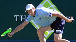 June 27, 2018 - Stole Poges, United Kingdom - Sam Querrey (USA) during his match against Nick Kyrgios (AUS) day two of The Boodles Tennis Event at Stoke Park on June 27, 2018 in Stoke Poges, England  (Credit Image: © Kieran Galvin/NurPhoto via ZUMA Press)