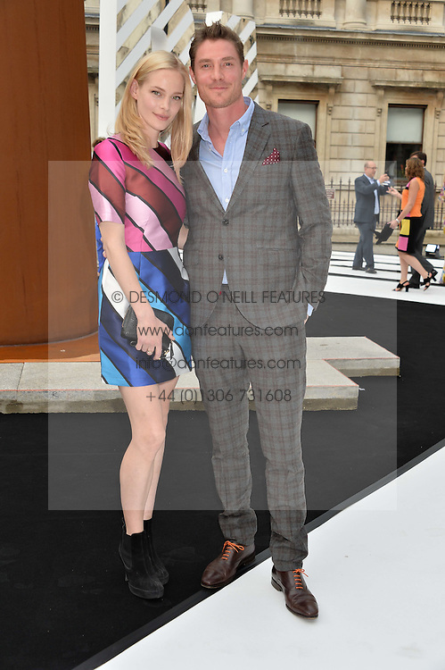 ANNABELLE HORSEY and MAX BROWN at the Royal Academy of Arts Summer Exhibition Preview Party at The Royal Academy of Arts, Burlington House, Piccadilly, London on 7th June 2016.