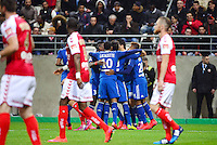 Joie Lyon / Deception Reims - 26.04.2015 - Reims / Lyon - 34eme journee de Ligue 1<br />