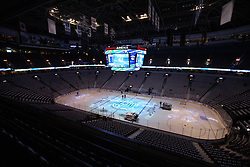 June 4, 2011; Vancouver, BC, CANADA; A general view before game two of the 2011 Stanley Cup Finals between the Vancouver Canucks and the Boston Bruins at Rogers Arena. Mandatory Credit: Jason O. Watson / US PRESSWIRE