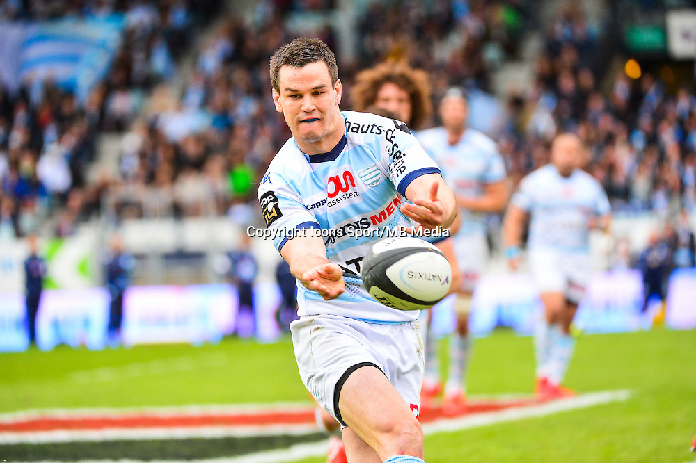 Jonathan SEXTON  - 11.04.2015 - Racing Metro / Montpellier  - 22eme journee de Top 14 <br />Photo : Dave Winter / Icon Sport