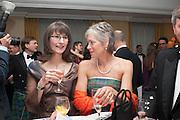 CAMILIA PLATT; EILEEN STEWART, The Royal Caledonian Ball 2013. The Great Room, Grosvenor House. Park lane. London. 3 May 2013.