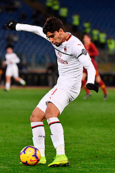 03.02.2019, Stadio Olimpico, Rom, ITA, Serie A, AS Roma vs AC Milan, 22. Runde, im Bild paqueta // paqueta during the Seria A 22th round match between AS Roma and AC Milan at the Stadio Olimpico in Rom, Italy on 2019/02/03. EXPA Pictures &copy; 2019, PhotoCredit: EXPA/ laPresse/ Alfredo Falcone<br /> <br /> *****ATTENTION - for AUT, SUI, CRO, SLO only*****