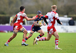 Ryan Edwards of Bristol United - Mandatory by-line: Paul Knight/JMP - 18/11/2017 - RUGBY - Clifton RFC - Bristol, England - Bristol United v Gloucester United - Aviva A League