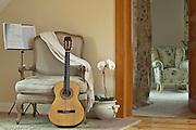 27.04.2010 Zalesie Gorne wnetrze domu Dworek Polski Fot Piotr Gesicki Photography of contemporary  rustical home interior near Warsaw Poland